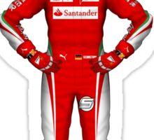 Sebastian Vettel 2016 Sticker