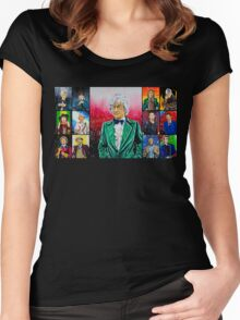 The Doctor of the Universe - The Dandy Women's Fitted Scoop T-Shirt