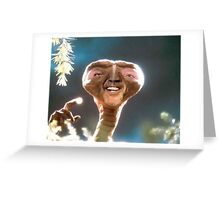 Nicolas Cage as ET Greeting Card