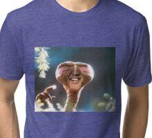 Nicolas Cage as ET Tri-blend T-Shirt