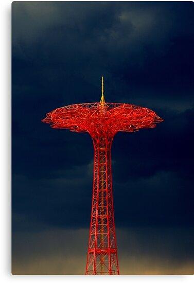 Parachute Jump, Coney Island by Alastair McKay
