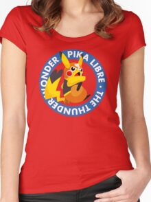 ¡Viva Pika Libre! Women's Fitted Scoop T-Shirt