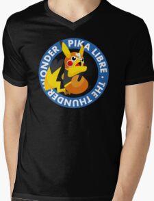 ¡Viva Pika Libre! Mens V-Neck T-Shirt