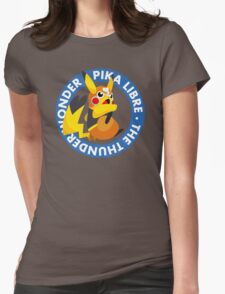 ¡Viva Pika Libre! Womens Fitted T-Shirt