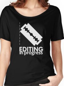 EDITING Women's Relaxed Fit T-Shirt