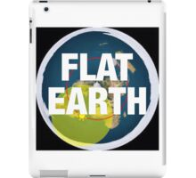 Flat earth, alternate science, iPad Case/Skin