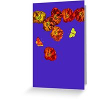 Poppy delight  Greeting Card
