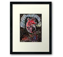 Lover's Heart Framed Print