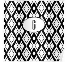 G Diamonds Poster