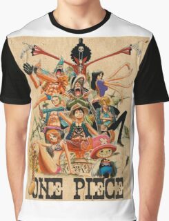 ONE PIECE - TEAM LUFFY (crewmate) Graphic T-Shirt