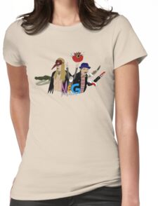 Monty And Griffin Show Womens Fitted T-Shirt