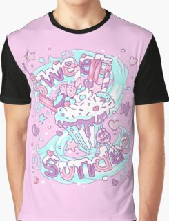 Sweet Sundae - Fairy Kei Pastel Kawaii Cute Graphic T-Shirt