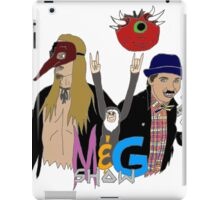 Monty And Griffin Show iPad Case/Skin