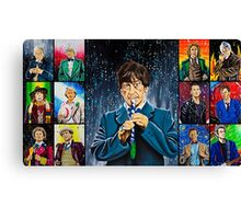 The Doctor of the Universe - The Cosmic Hobo Canvas Print