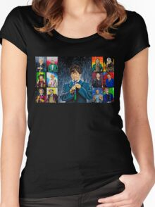The Doctor of the Universe - The Cosmic Hobo Women's Fitted Scoop T-Shirt