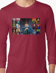 The Doctor of the Universe - The Cosmic Hobo Long Sleeve T-Shirt