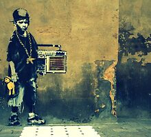Banksy New Skool  by Alastair McKay