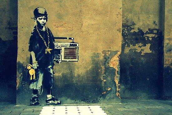 Banksy New Skool  by Alastair McKay