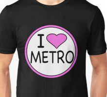 I Heart Metro  Unisex T-Shirt