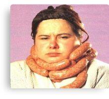 Fabu-sausage Canvas Print
