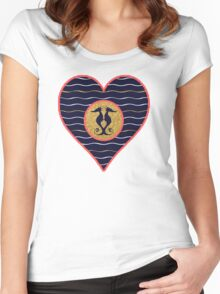 Nautical by Nature Women's Fitted Scoop T-Shirt