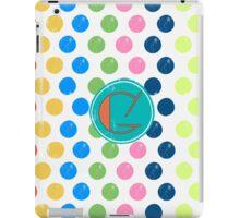 Polka Dot G iPad Case/Skin