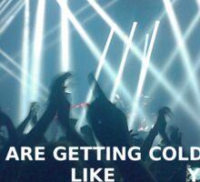 concerts. Sticker