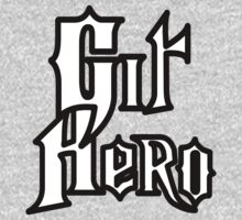 Git Hero - Parody Design for Version Control Heros Baby Tee