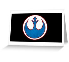 Rebel Alliance Symbol Greeting Card