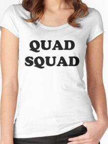 """QUAD SQUAD"" Women's Fitted Scoop T-Shirt"
