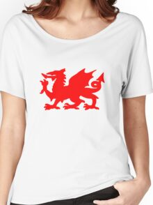 Welsh Dragon Women's Relaxed Fit T-Shirt