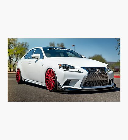 IS 350 F Sport Photographic Print