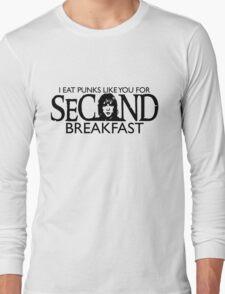 Leftovers for Elevenses Long Sleeve T-Shirt