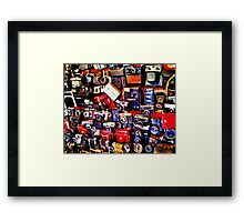 Click! - By White Balance Framed Print