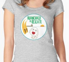 Huanchaco Al Rescate Women's Fitted Scoop T-Shirt