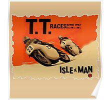 ISLE OF MAN TT RETRO Poster