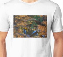 Impressions of a Little Forest Creek in the Fall Unisex T-Shirt