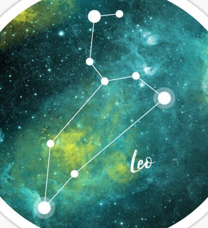Leo Zodiac Sign, July 23 - August 22 Sticker