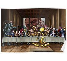 Anime Last Supper Poster