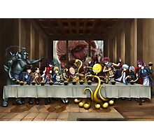 Anime Last Supper Photographic Print