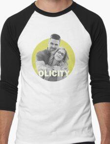 I Ship Olicity - Arrow Men's Baseball ¾ T-Shirt