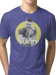 I Ship Olicity - Arrow Tri-blend T-Shirt