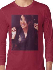 Aubrey Plaza Long Sleeve T-Shirt
