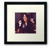 Aubrey Plaza Framed Print