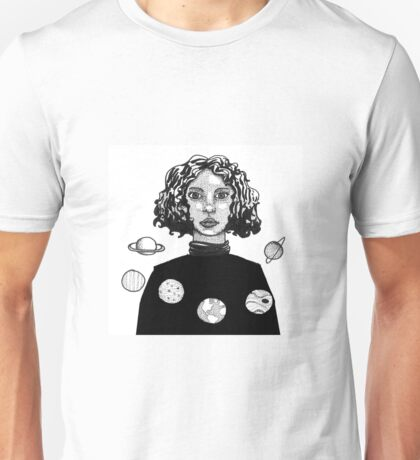 Space Woman Unisex T-Shirt