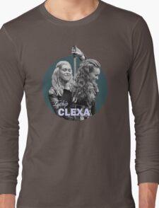 I Ship Clexa - The 100  Long Sleeve T-Shirt