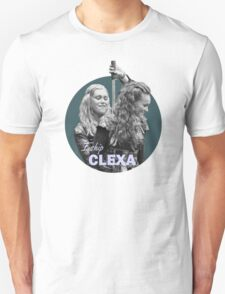 I Ship Clexa - The 100  T-Shirt