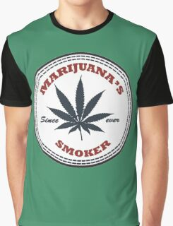 Marijuana's smoker Graphic T-Shirt