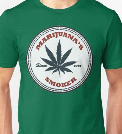 Marijuana's smoker Unisex T-Shirt