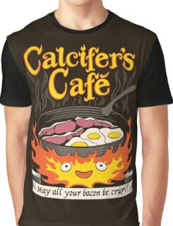 Fire Demon's Cafe Graphic T-Shirt